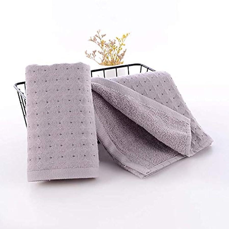 山新鮮な基本的な綿のハンドタオルの速い乾燥したタオルの速い乾燥したタオル,Gray,34*75cm