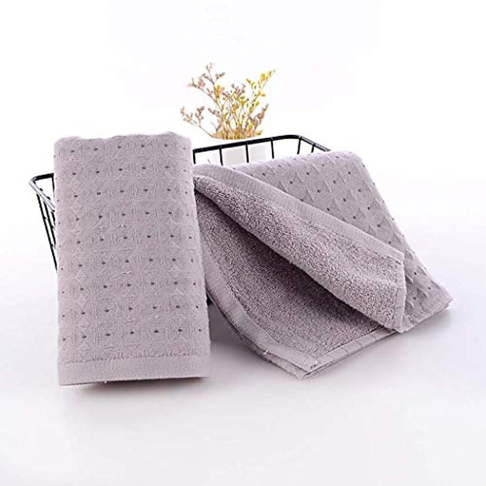 代数的病んでいるジャズ綿のハンドタオルの速い乾燥したタオルの速い乾燥したタオル,Gray,34*75cm