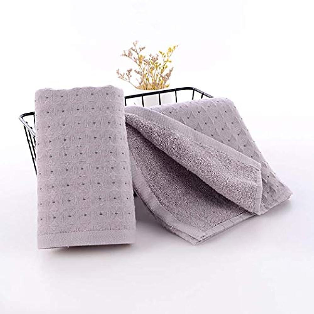 故意に心理的にインカ帝国綿のハンドタオルの速い乾燥したタオルの速い乾燥したタオル,Gray,34*75cm
