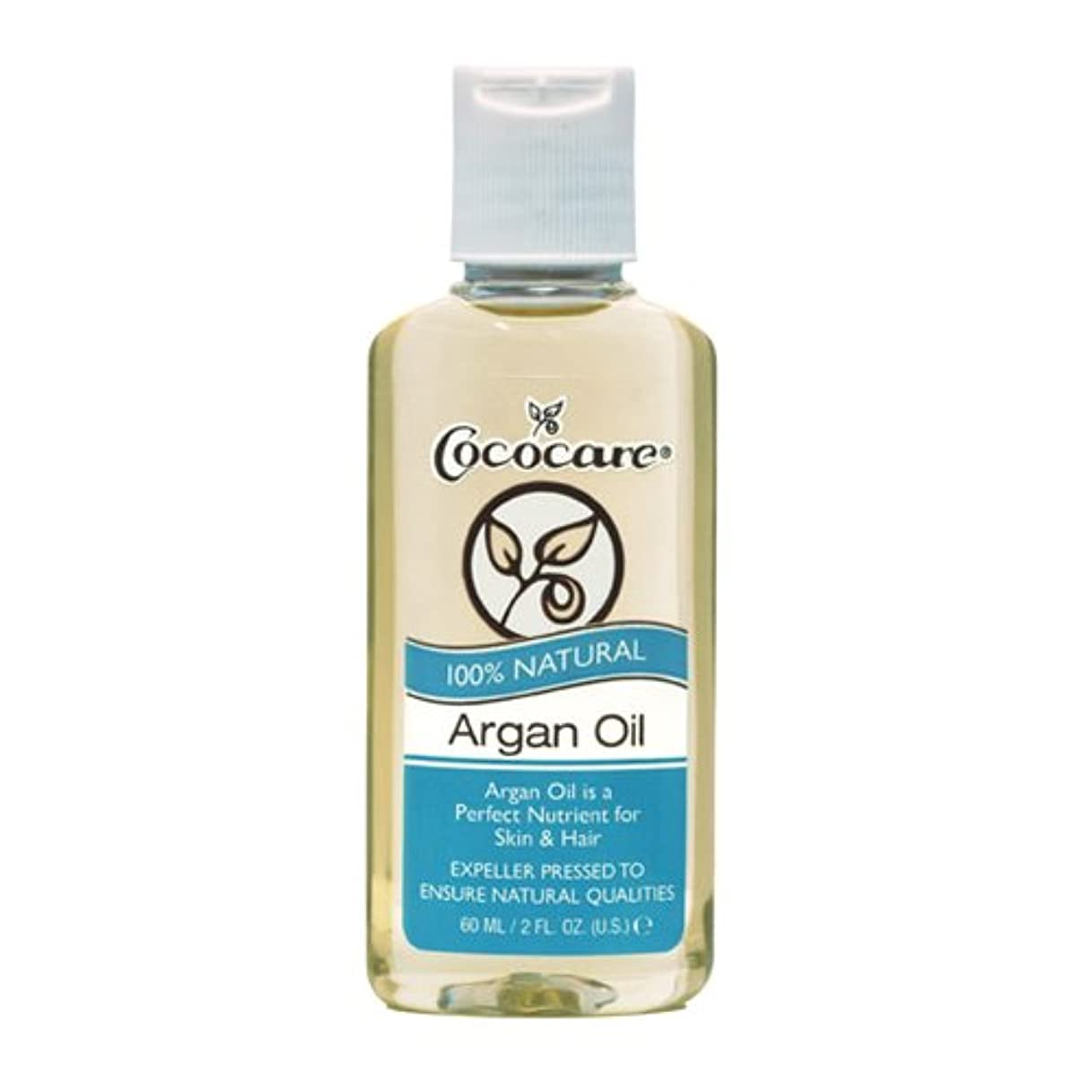 温室浜辺恐怖Cococare, 100% Natural Argan Oil, 2 fl oz (60 ml)
