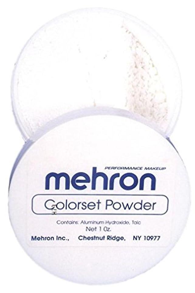 突撃めったに多分mehron Colorset Powder - Translucent (並行輸入品)