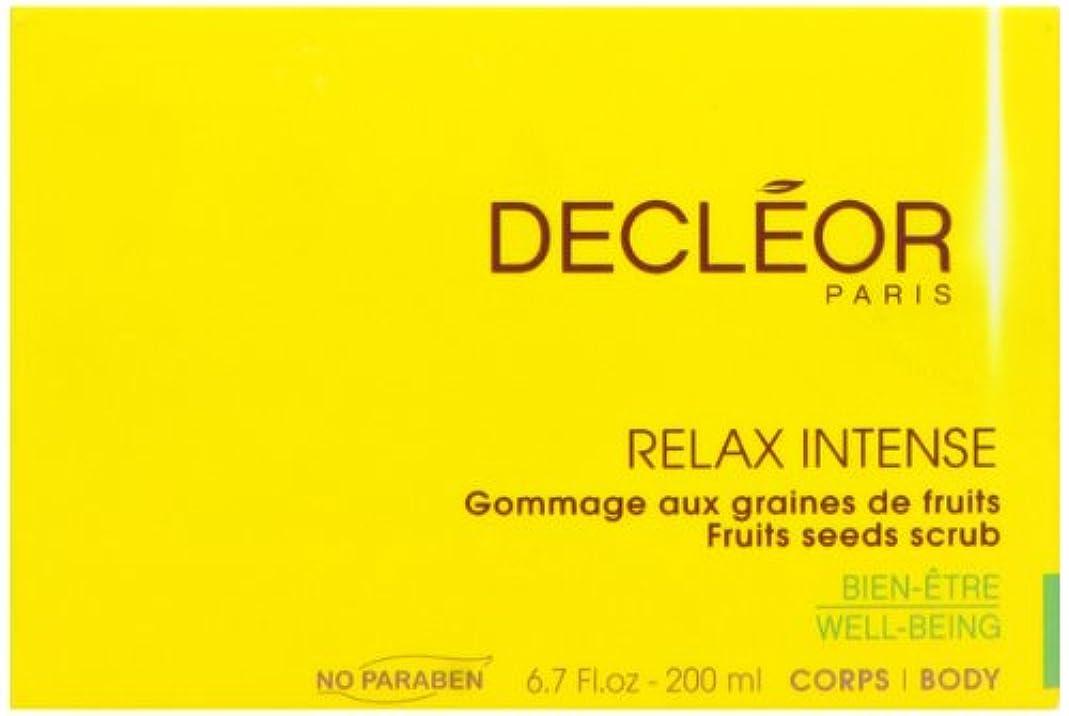 肯定的海洋専門化するデクレオール(DECLEOR) フルーツ シード スクラブ 200ml(ボディ用洗浄料)