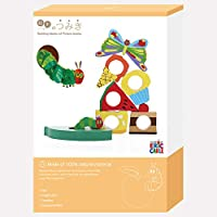 絵本のつみき はらぺこあおむし プレイセット / はらぺこあおむしシリーズ / 木製 積み木 おもちゃ TM-AOM-0301