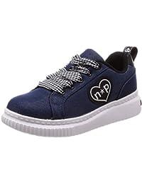 [阿基里斯] 运动鞋 上学用鞋 笑脸☆小工具 厚底 轻便 19~25cm 2E 儿童 女孩 NPS 0010