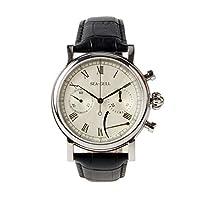 Seagull レア パワーリザーブ ディスプレイ クロノグラフ 腕時計 機械式 手巻き式 オニオンクラウン 腕時計 メンズ サファイア クリスタル