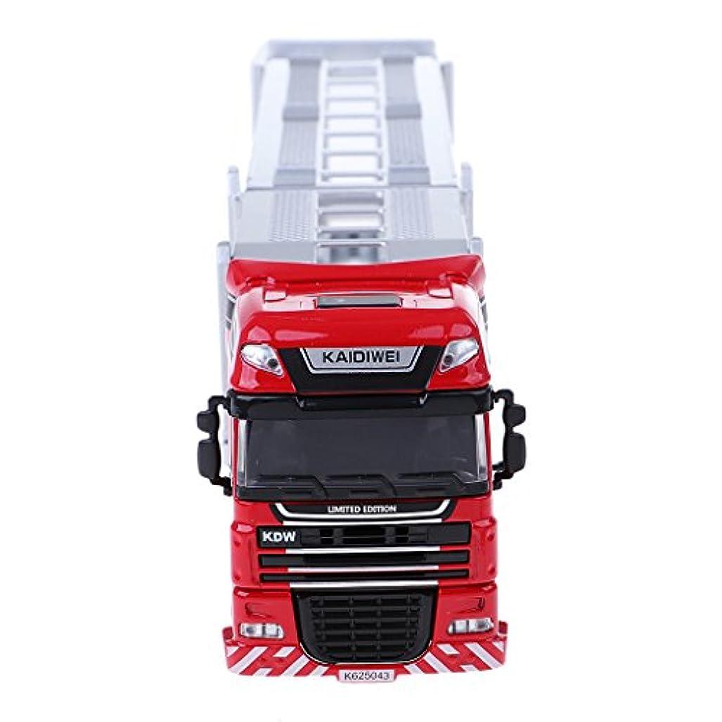 呼びかけるネーピア勘違いするおもちゃ モデルカー 車模型 輸送トラック シミュレーション 工芸品 ミニ造園 ドールハウス 装飾
