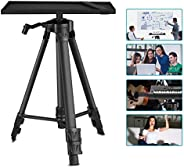 Neewer Aluminum Tripod Projector Stand, Adjustable Laptop Stand, Computer Stand with Plate and Carry Bag, Adju