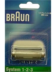 ブラウン システム1-2-3用網刃 424