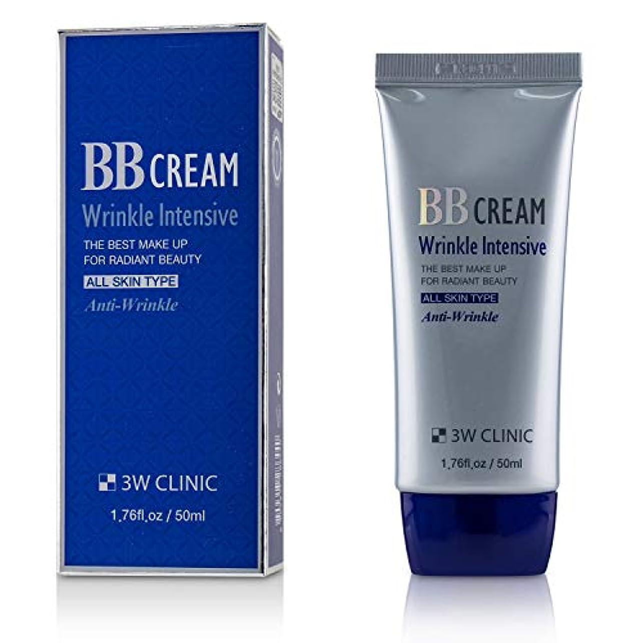男嘆願飲食店3Wクリニック Wrinkle Intensive BB Cream 50ml/1.76oz並行輸入品