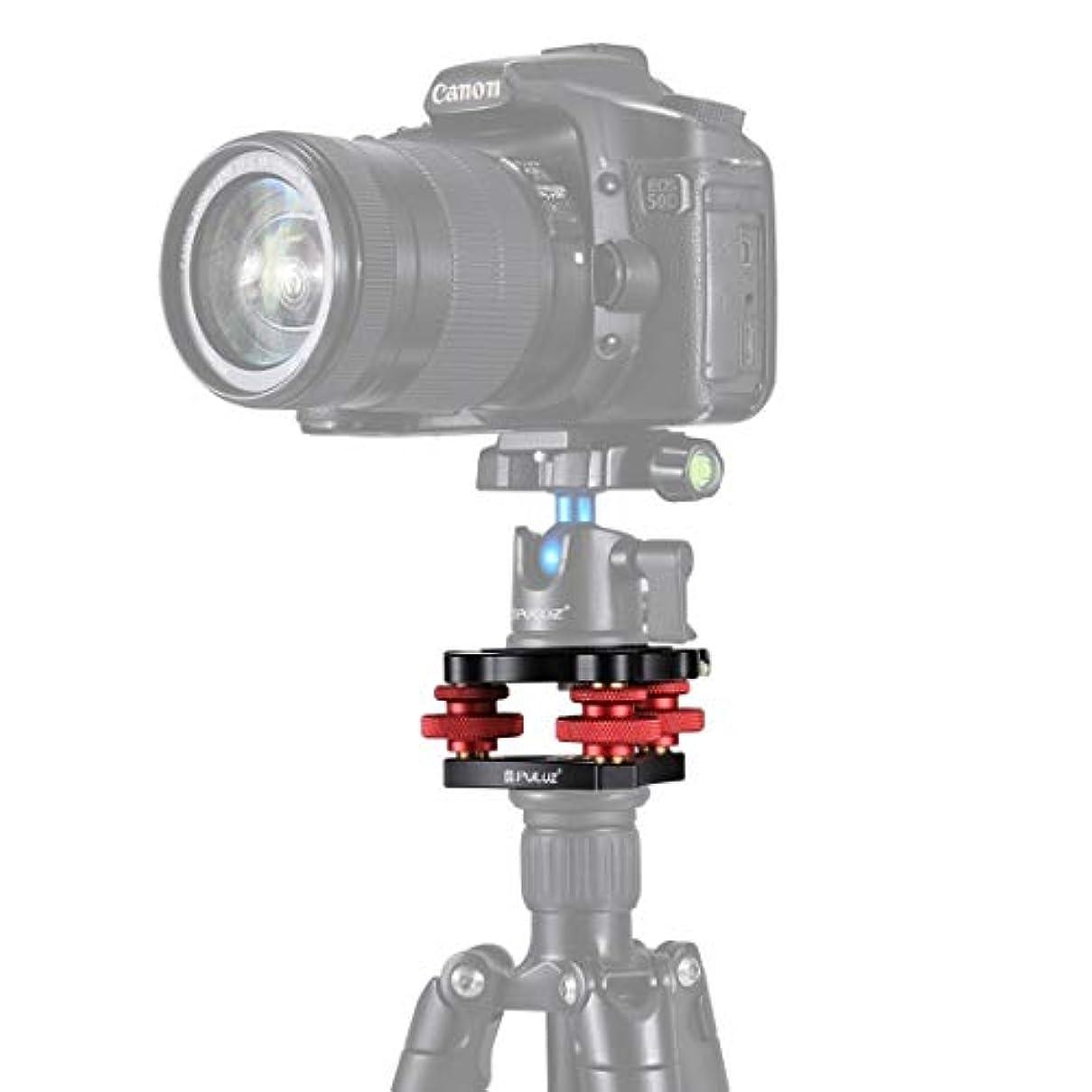 スタンド委任するハムCamera shooting live broadcast accessory foot stan アルミニウム合金の調整ダイヤルレベリングベースボールヘッド用のカメラの三脚ヘッドストロング FENGFENGWUJIN