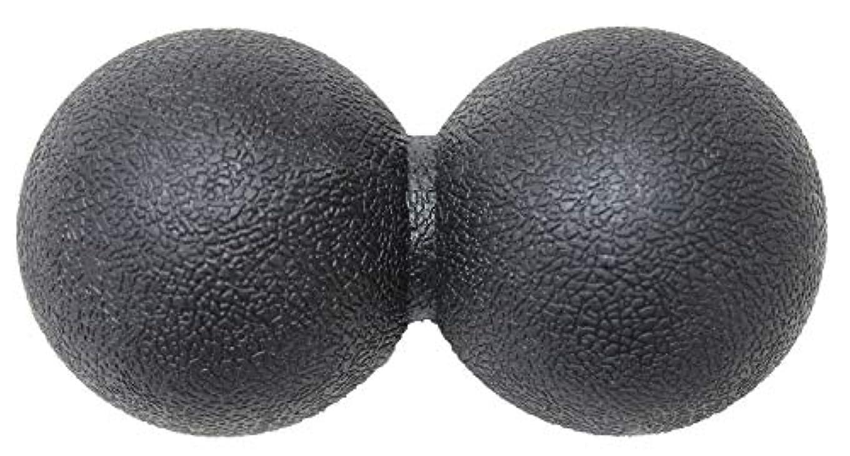 早く地下鉄急襲KaRaDaStyle マッサージボール ストレッチボール リセットボール トリガーポイント ピーナッツ型 (ブラック)