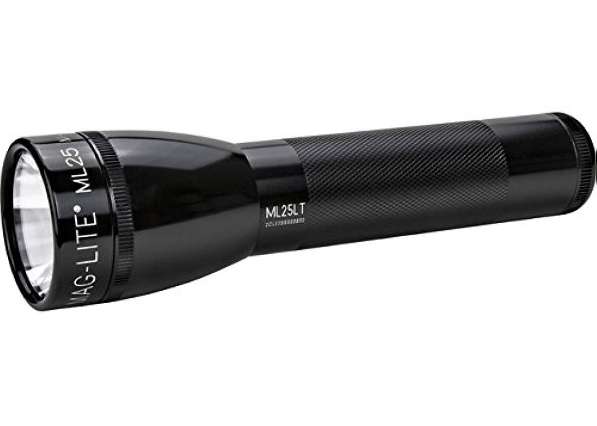 完璧ホステス小数MAGLITE ML25LT 2C-Cell LED Flashlight 【本体色:ブラック】マグライト 【明るさMAX:177ルーメン / 単2アルカリ電池×2本】MG-ML25LT-S2015