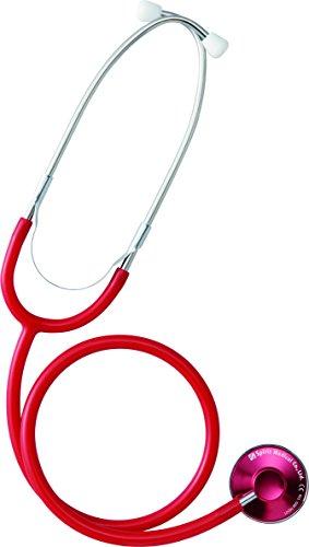 聴診器 エントリーモデル エコノミーS CK-A603AT  レッド Spiritmedical