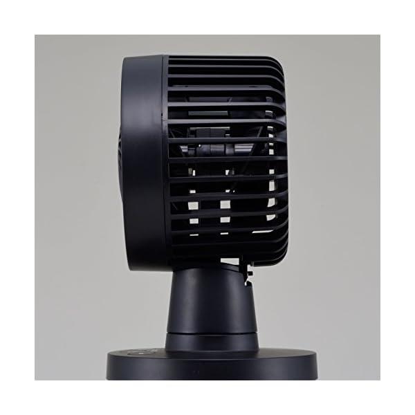 siroca USB卓上扇風機 ブラック [U...の紹介画像4