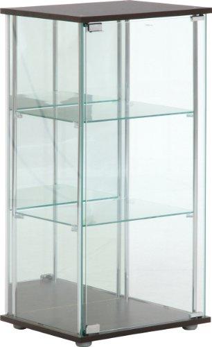 不二貿易 コレクションケース フィギュアケース 3段 高さ90cm ガラス 背面ミラー 96048