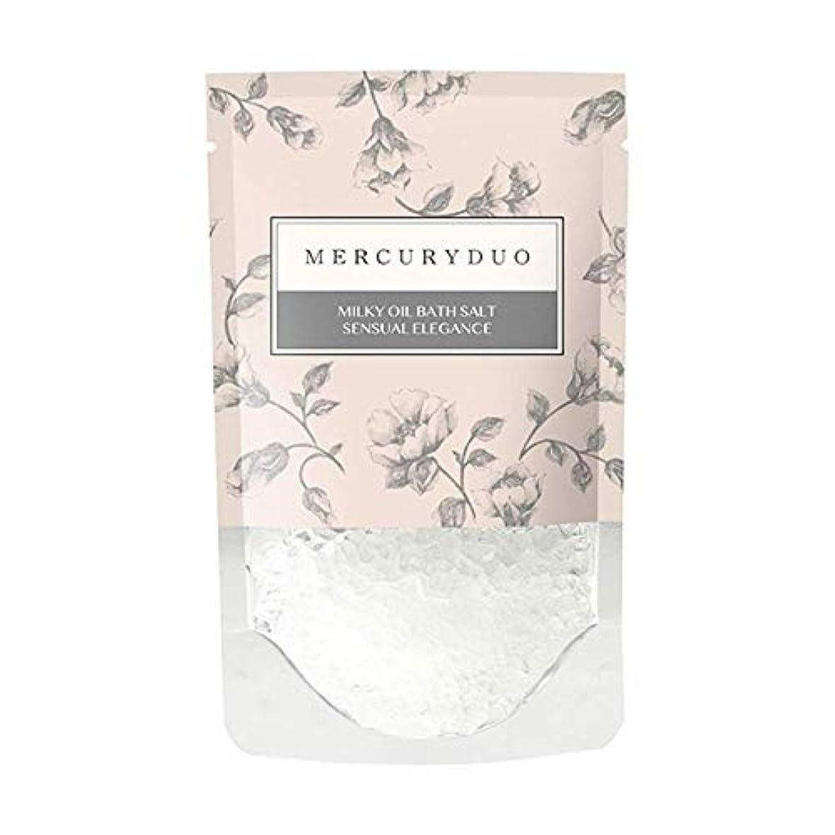 改修スーパーマーケット動詞MERCURYDUO マーキュリーデュオ オイル in フレグランス バスソルト 7個入 [ 浸かる乳液 ] しっとり 保湿 発汗 入浴剤 1包 45g