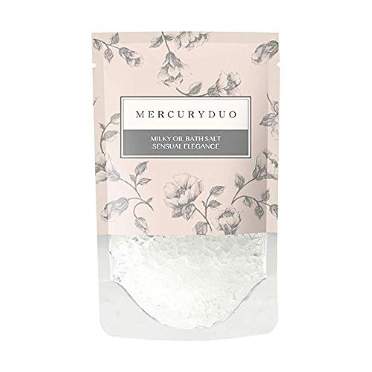 平日広告する乳製品MERCURYDUO マーキュリーデュオ オイル in フレグランス バスソルト 7個入 [ 浸かる乳液 ] しっとり 保湿 発汗 入浴剤 1包 45g