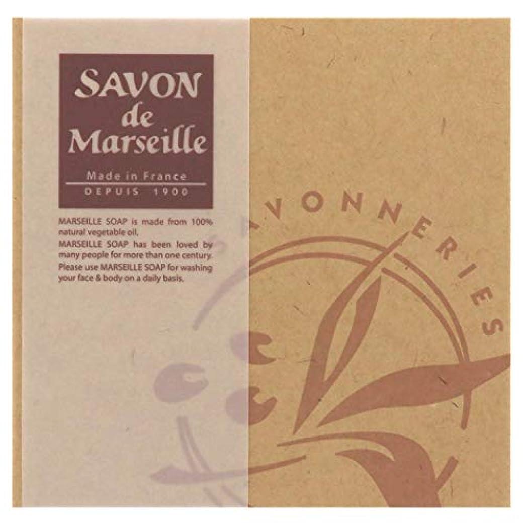 気づかない印象的な目に見えるサボンドマルセイユ無香料ギフトセット4個入り