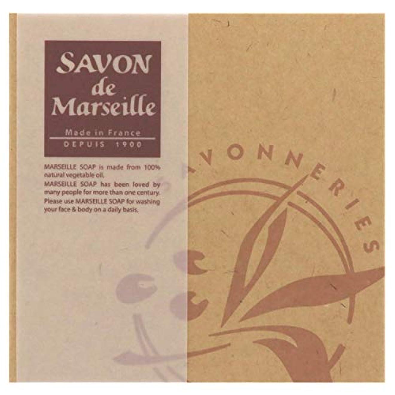 縞模様の変化熟達サボンドマルセイユ無香料ギフトセット4個入り