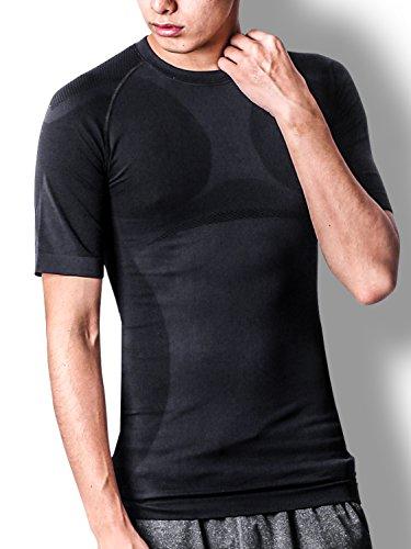 liberte riche(リベルテ リッシュ) 加圧シャツ XL ブラック