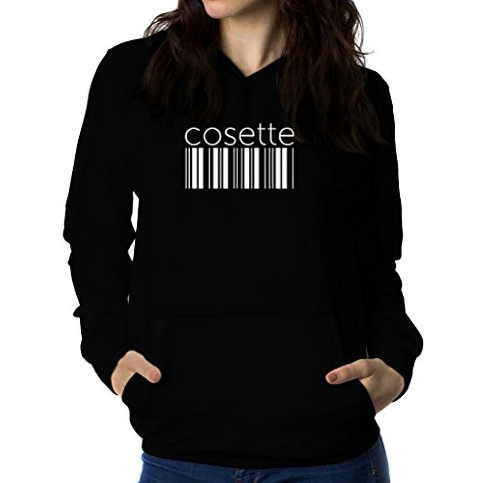 りその結果回転させるCosette barcode 女性 フーディー