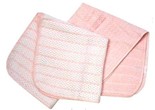 優 吸水ふきん(2枚組) ピンク