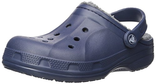 [クロックス] CROCS クロックス Crocs Winter Clog クロックス ウィンター クロッグ 冬用クロック 203766 459(Navy/Charcoal/M5/W7)