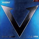 XIOM エクシオン 卓球ラケット用ラバー ヴェガ チャイナ 095181 裏ソフト 赤 MAX