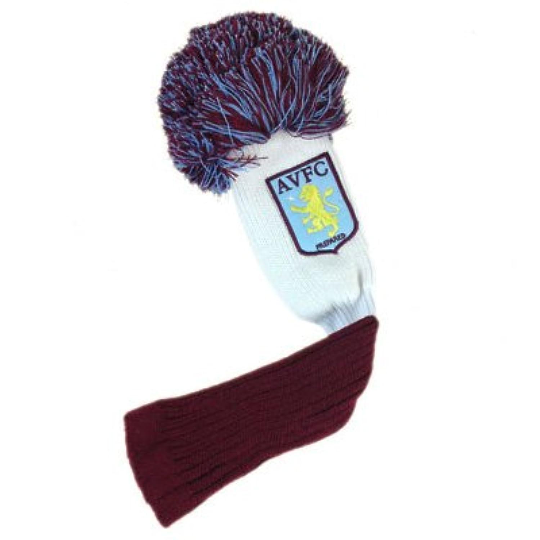 アストンビラ オフィシャル ボンボン付き ヘッドカバー(フェアウェイウッド用) ゴルフ ヘッドカバー フェアウェイウッド用 [並行輸入品]