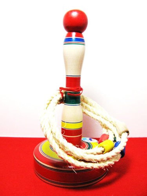 日本おもちゃ 手作り 輪なげ 輪投げ(小)