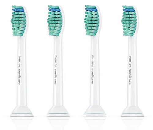 電動歯ブラシ用 替ブラシ ソニッケアー プロリザルツ ブラシヘッド スタンダード タイプ4本組 HX601401