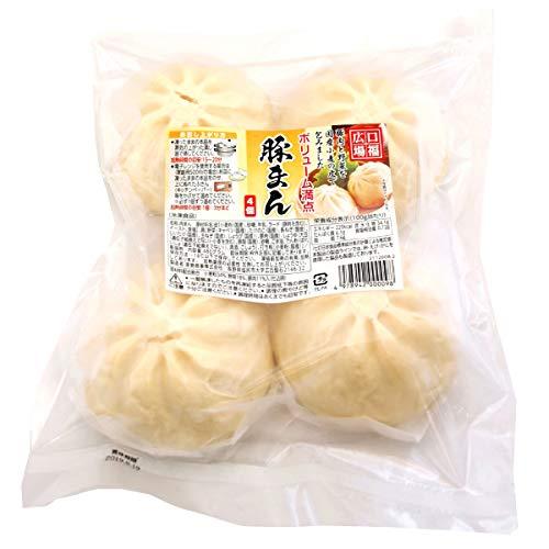 無添加 冷凍総菜 肉まん 国産 豚まん 480g(4個)  2パック