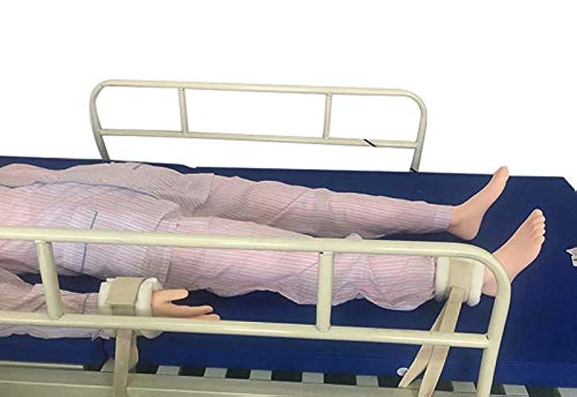 下に向けます蒸し器興味手足用コントロールリムホルダー - 医療用拘束患者リムホルダー - ユニバーサル拘束コントロールクイックリリース(1ペア)