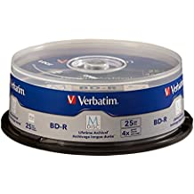 Verbatim M-Disc BD-R 25GB 4X with Surface - 25pk Spindle - 98909