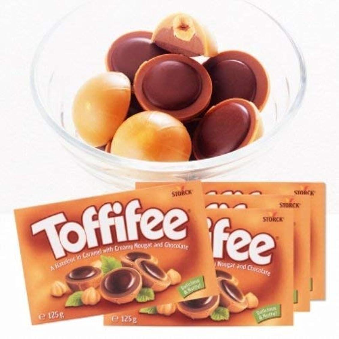 起こる生き残りサルベージストーク(storck) トフィー チョコレート 4箱セット 【 ドイツ 輸入食品 スイーツ】