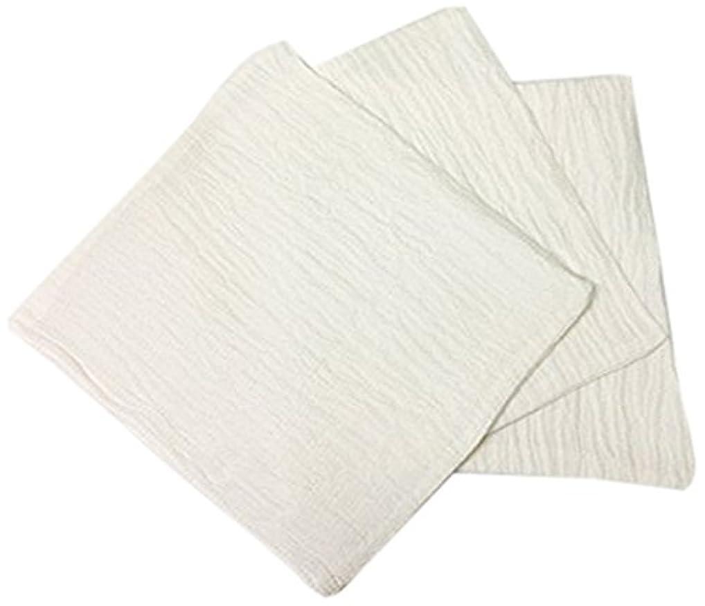 嫌い書き込み買収くーる&ほっと シルクを加えた ちょっと贅沢な シルク & レーヨン あかすり 袋タイプ 日本製(群馬県で製造)3枚 ホワイト
