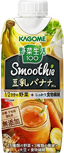 野菜生活100 Smoothie 豆乳バナナスムージーMix 330ml×24本