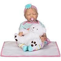 SanyDoll Rebornベビー人形ソフトSilicone 22インチ55 cm磁気Lovely Lifelike Cute Lovely Baby b0763lppxt