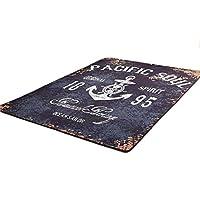 カーペットベッドサイドカーペットコーヒー毛布テーブルカーペットスクエア混合滑り止め機洗えるカーペット (PATTERN : A, Size : 180x260cm)