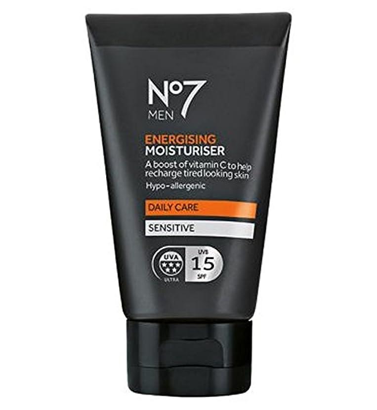 No7 Men Energising Moisturiser 50ml - 保湿50ミリリットルを通電No7の男性 (No7) [並行輸入品]