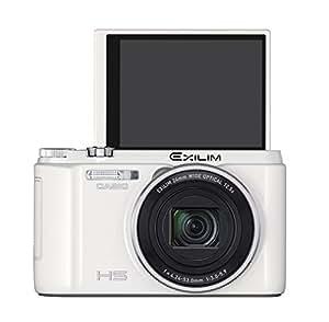 CASIO デジタルカメラ EXILIM EXZR1300WE 自分撮りチルト液晶 5軸手ブレ補正 1610万画素 EX-ZR1300WE ホワイト