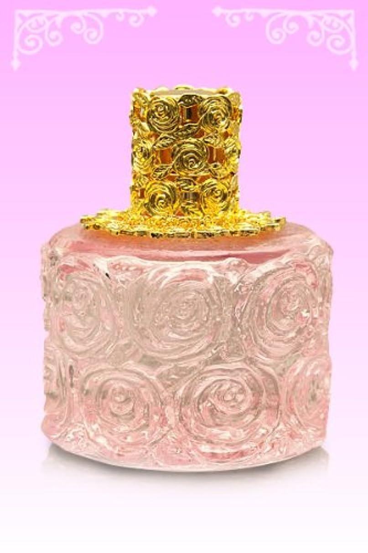 ジャンクショップ共産主義【ノエルランプ】ミニローズランプ ピンク?ゴールド ランプベルジェ製アロマオイルでも使用可