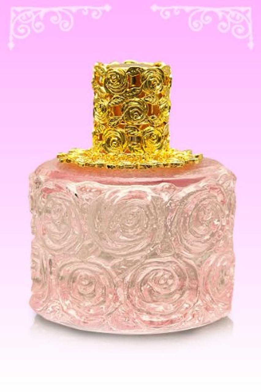 四回汚すスラダム【ノエルランプ】ミニローズランプ ピンク?ゴールド ランプベルジェ製アロマオイルでも使用可