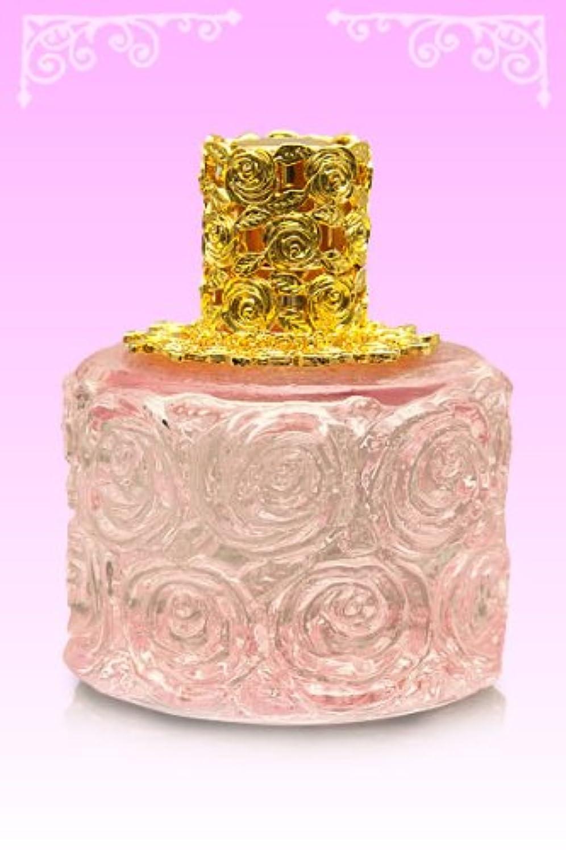 【ノエルランプ】ミニローズランプ ピンク?ゴールド ランプベルジェ製アロマオイルでも使用可