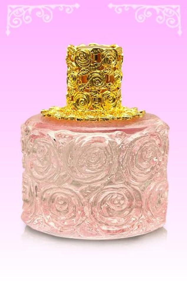 担当者ローズ業界【ノエルランプ】ミニローズランプ ピンク?ゴールド ランプベルジェ製アロマオイルでも使用可