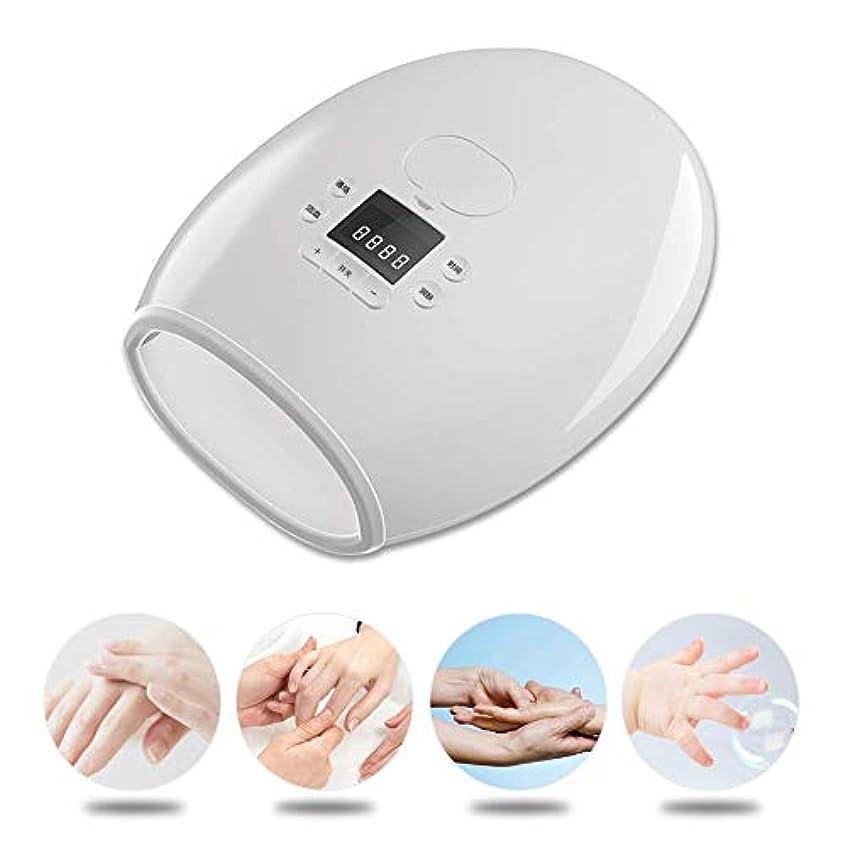 喉が渇いたマングル肌寒い多機能マッサージャーを白くする電気暖房手指圧マッサージパーム10種類のマッサージモード15種類のマッサージ強度
