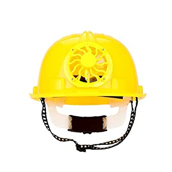 ソーラー ヘルメット ファン 携帯扇風機 太陽エネルギ 電池不要 ソーラー内蔵 軽量 コンパクト 屋外 安全 帽子 作業用 熱中症・暑さ対策