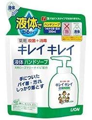 (まとめ) ライオン キレイキレイ 薬用ハンドソープ 詰替用【×30セット】