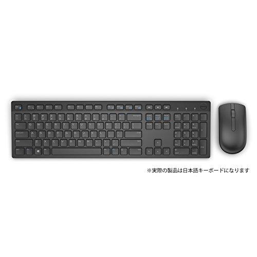 Dell ワイヤレスキーボード・マウスセット KM636 ブラック