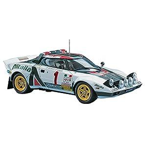 ハセガワ 1/24 ランチァ ストラトス 1977 モンテカルロラリー ウィナー プラモデル CR32